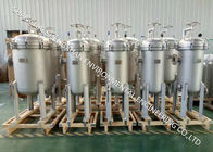 Stainless Steel Multi Bag Filter Housing 2-8 PCS For Chemical Industry Filtration