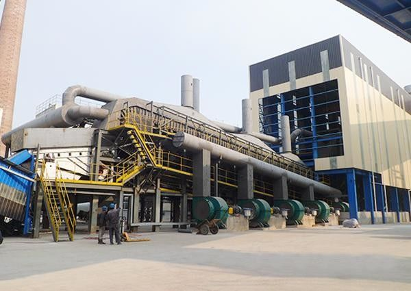 Sinter Plant Metallurgical Equipment Belt Cooling Machine 46 - 140m3 Capacity