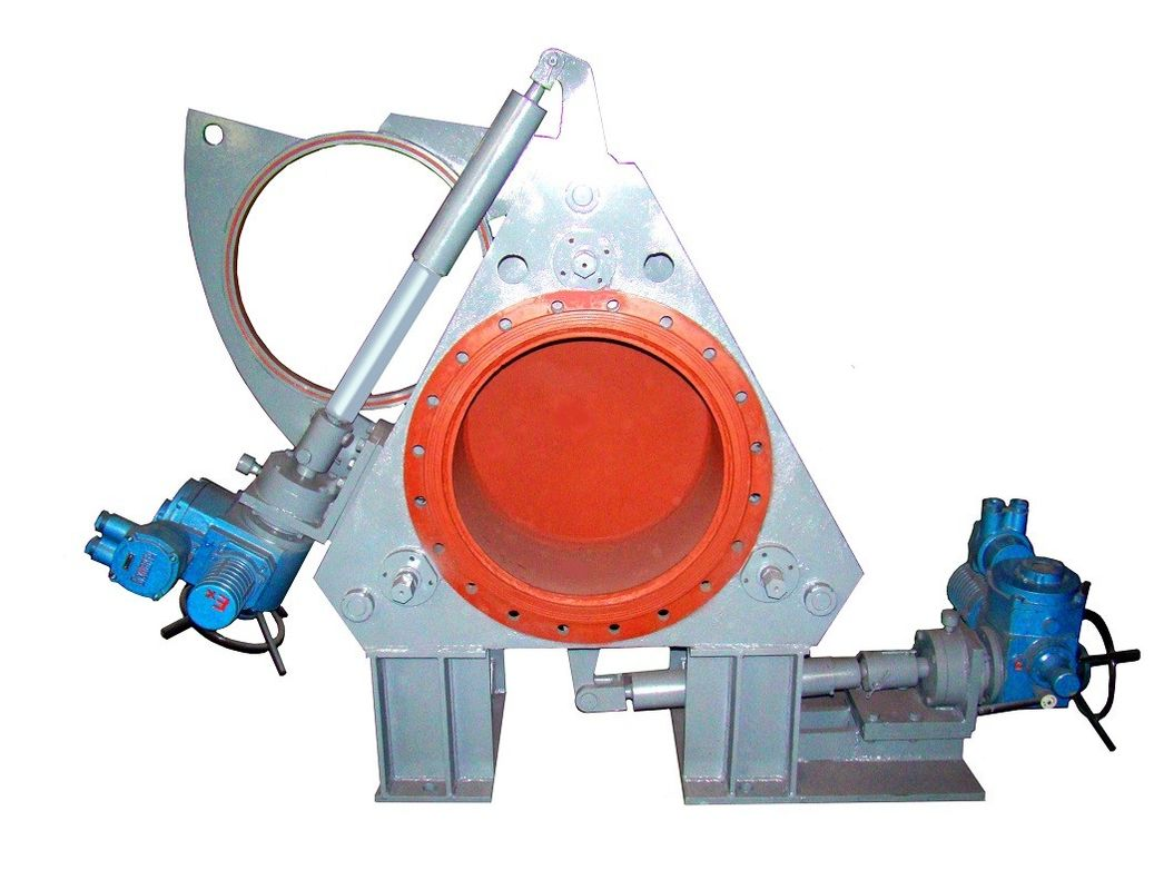 Carbon Steel Goggle Valve / Manual Isolation Valve For Gas Isolation